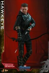 1/6 Hottoys Ht Avengers Endgame Hawkeye Jeremy Renner Action Figure Outfits New