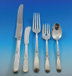 Fleetwood By Manchester Sterling Silver Flatware Service 8 Set 41 Pieces Dinner