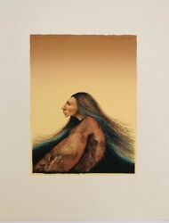 Frank Howell Hand Colored Lithograph Seasons Turning 1983