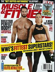 Muscle amp; Fitness October 2019 Seth Rollins amp; Becky Lynch