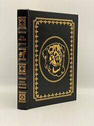 Easton Press Old Yeller Fred Gipson Collectors Limited Leather Bound Edition Dog