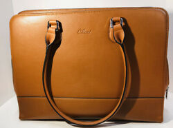 Cluci Laptop Totes for Women Genuine Leather $61.00
