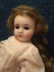 Antique Bisque Belton Type Doll For The French Market