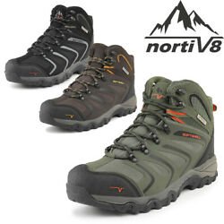 Mens Waterproof Hiking Boots Backpacking Lightweight Outdoor Work Boots Shoes US $46.39