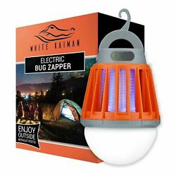 Small Electric Bug Zapper for Indoor amp; Outdoors 1000V W Light Refurbished