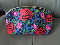 etsy Johnson Large Cosmetic Floral Pattern NWOT $12.75