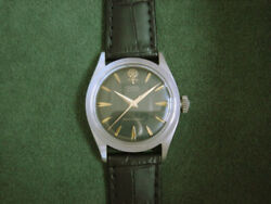 Tudor Oyster Ref.7934 Cal.1156 Manual Winding Menand039s Watch 1960and039s 34mm