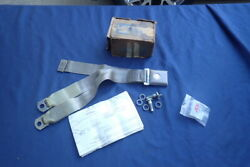 1967-68 Ford Seat Belt Kit Parchment Nos Galaxy Mustang Fairlane