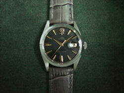 Tudor Oyster Date Ref.7939 Cal.380 Automatic Menand039s Watch 1960and039s 33mm