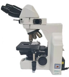 Nikon Eclipse E400 Biological Microscope 4 Plan Objectives With Phase Contrast
