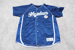 New York Yankees Jersey. Blank Back. Made By True Fan. Youth Xl. Used