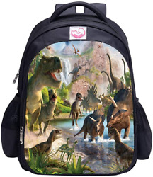 Dinosaur Backpack MATMO Dinosaur Backpacks for Boys School Backpack Kids Bookbag $28.53