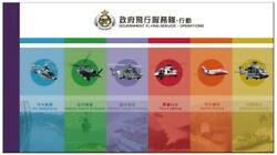 Hong Kong Government Flying Service Operations Stamp Booklet Mnh 2019