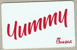 Chick-fil-a Collectible Gift Card No Value Mint 01 Yummy