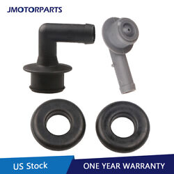 Pcv Ccv Vent Valve Elbows And Grommet Kit For 00-04 Jeep Grand Cherokee 53013360aa