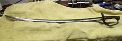 1822 French Model Cavalry Officers Sword