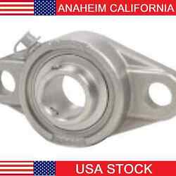 Ssucft207-35mm Stainless Steel Flange 2 Bolt 35mm Mounted Bearings 14966