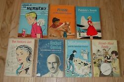 Lot of 7 Vintage 1960s all Scholastic paperback books Herbert Electrical Mouse