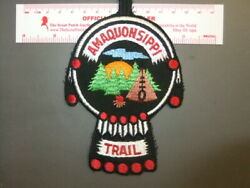 Boy Scout Amaquonsippi Trail Patch Illinois 6155bb