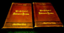 The Girlhood Of Shakespeareand039s Heroines Mary C. Clarke 1st And 2nd Series1875