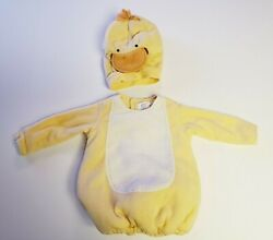 Pottery Barns Kid Costume Chick 12-24 Months Yellow Baby Halloween