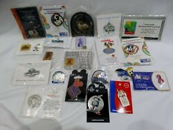 21 Misc. Lot Of Disney Pins -artist Choice, Limited Edition, Special Events