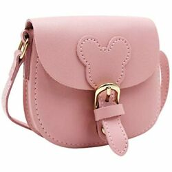 Little Girls Purse Cute Leather Crossbody Bag Mini Shoulder For Kids Toddler $20.92