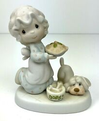 Precious Moments quot;Dropping Over For Christmasquot; Figurine 1982 E 2375 $14.99