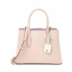Kate Spade Eva Small Satchel Crossbody Leather Bag Blush Beige New $149.99