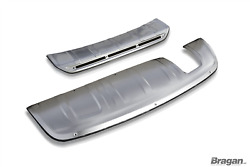 To Fit Audi Q3 2012-2015 Front And Rear Skid Plate Bumper Spoiler Guard Protector