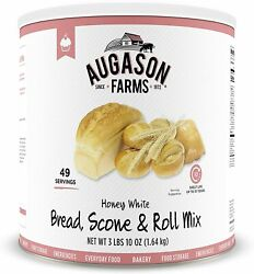 Augason Farms Honey White Bread Scone And Roll Mix Emergency Survival Camping Food