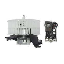 For Mercedes-benz S-class W220 S320 S350 S500 A/c Heater Blower Motor + Resistor