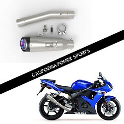 Cps Slip On Pipe Muffler Exhaust Fit For Yamaha Yzf R6 R6s 2003-2009 06 07 08 T2