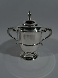 Ensko Trophy Cup - 2805 - Neoclassical Covered Urn - American Sterling Silver