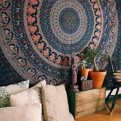 Popular Handicrafts Tapestry Wall hangings Hippie Mandala Bohemian Psychedelic I