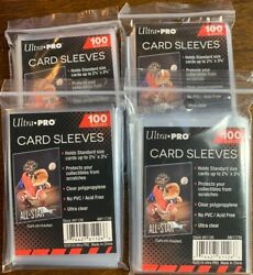 400 NEW SOFT PENNY ULTRA PRO BASEBALL CARD POLY SLEEVES fits 3X4 TOPLOADERS $7.99