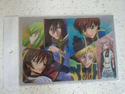 Code Geass Lelouch Of The Rebellion, Carddas, A5 Anime Clear Poster