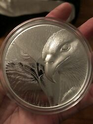 10 Oz Silver Mayer Mint Relief Round Brilliant Uncirculated Only 1000 Made