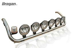 To Fit Scania Pgrseries Pre 2009 Topline Roof Bar + Led + 9 Spot X6 + Beacon