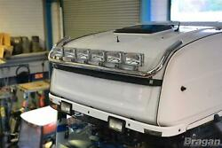 To Fit Daf Xf 106 2013+ Space Cab Roof Light Bar + Flush Leds + Rectangle Spots