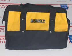 "DeWALT 15"" Tool Bag Small Contractor Nylon Storage Case Tote 20V 12V W Runners $20.00"