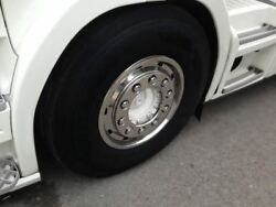 To Fit Scania Iveco Truck Super Single Wheel Trims Covers X2 135mm