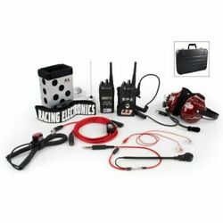 Racing Electronics Re185 System Chase 2way Motorola Cp185 New