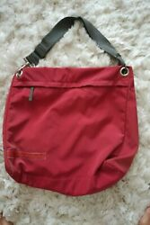 UNISEX Beautiful large Prada Crossbody Over Night Bag Great condition $119.00