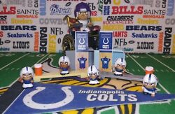 13-piece Nfl Teenymates Indianapolis Colts Figure And Accessory Set