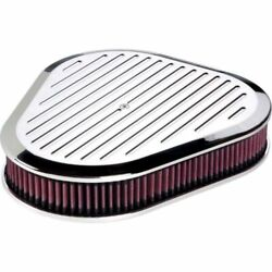 Billet Specialties 15720 Air Cleaner - Triangle Ball Milled Polished New