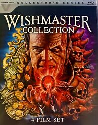 Wishmaster Collection 4-film Set Blu-ray Disc 2017 3-disc Set W Slipcover