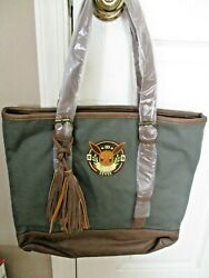 Loungefly Pokemon Eevee Tote Canvas Shoulder Bag Green NWT $42.99