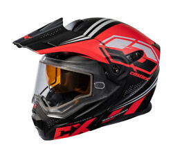 Castle Exo-cx950 Siege Snow Helmet Matte Black/red