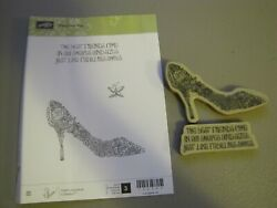 Stampin up Fabulous You Butterfly Shoe Flowers Stamp Set lot of 3